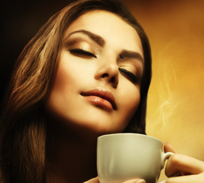 smelling-coffee