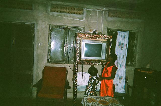 Uganda inside home TV