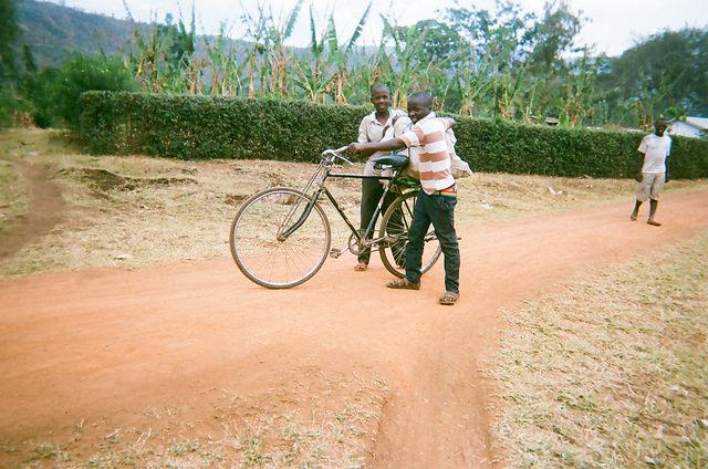Uganda kids bike