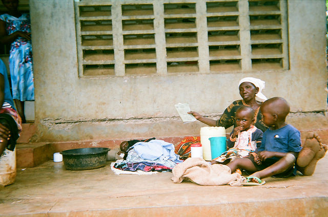 Uganda woman children