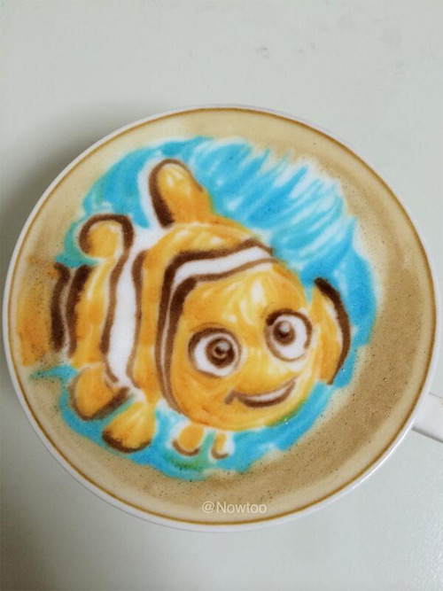 1-nemo-colored-latte-art